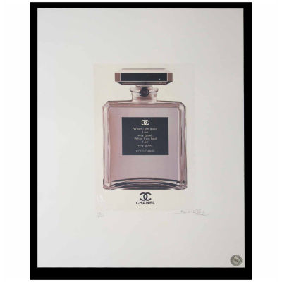 Fairchild Paris Chanel No. 5 Good Quote Framed Wall Art