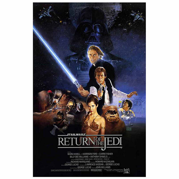 Return of the Jedi (1983) Movie Poster Framed Wall Art