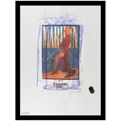 Fairchild Paris Marilyn Monroe Chanel (225) Framed Wall Art