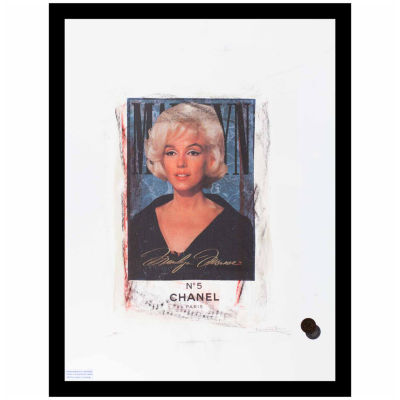 Fairchild Paris Marilyn Monroe Chanel (701) Framed Wall Art