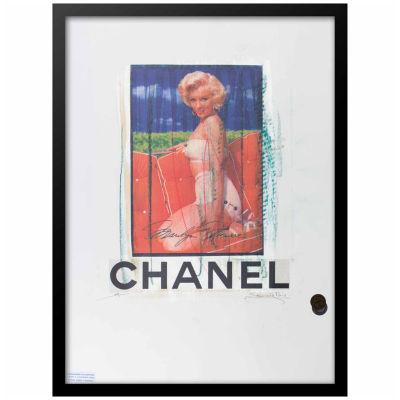 Fairchild Paris Marilyn Monroe Chanel (704) Framed Wall Art