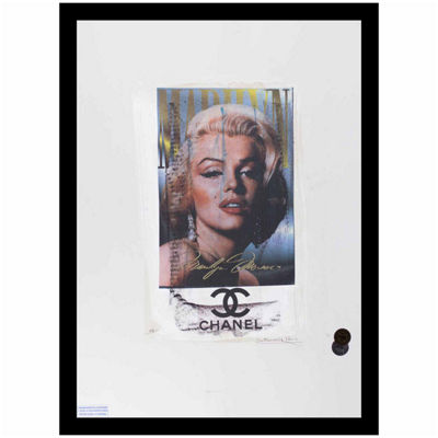 Fairchild Paris Marilyn Monroe Chanel (711) Framed Wall Art