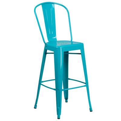 30IN Metal Indoor/Outdoor Barstool