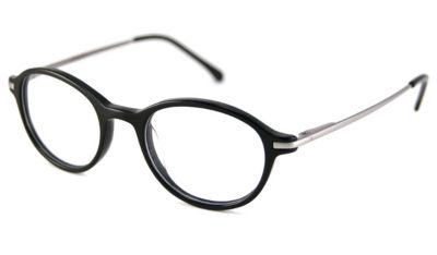 V Optique Reading Glasses - Montpellier Black Full Eye