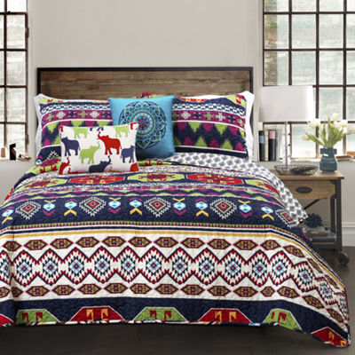 Lush Decor Sanora Quilt 5PC Set