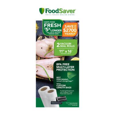 "FoodSaver® 2-Pack 11""x16' Rolls"