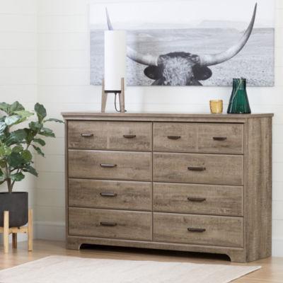 Versa 8-Drawer Double Dresser