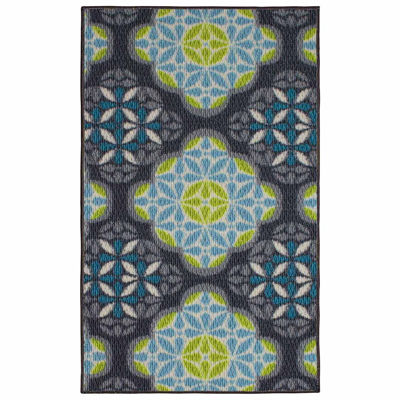 Structures Olivia Textured Rectangular Accent Rug