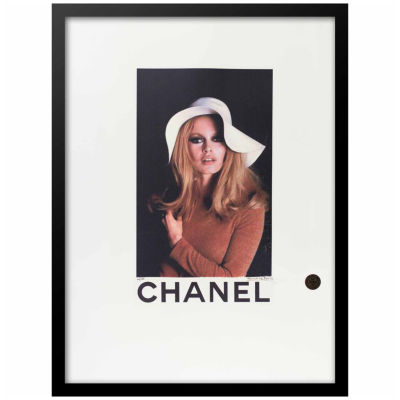 Fairchild Paris Chanel Brigitte Bardot Framed Wall Art