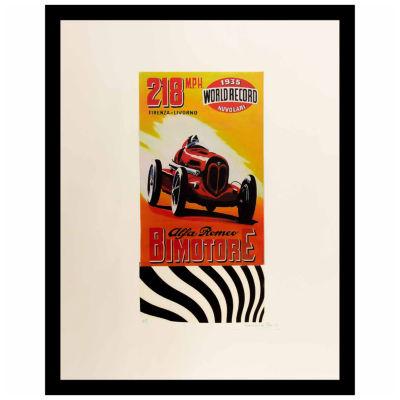 Fairchild Paris Alfa Romeo Framed Wall Art