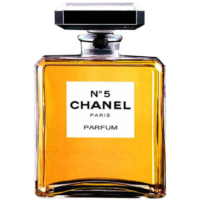 Fairchild Paris Classic Chanel No. 5 Classic Bottle Framed Wall Art