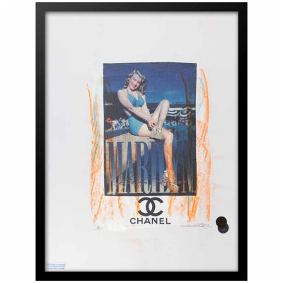 Fairchild Paris Marilyn Monroe Chanel (705) Framed Wall Art