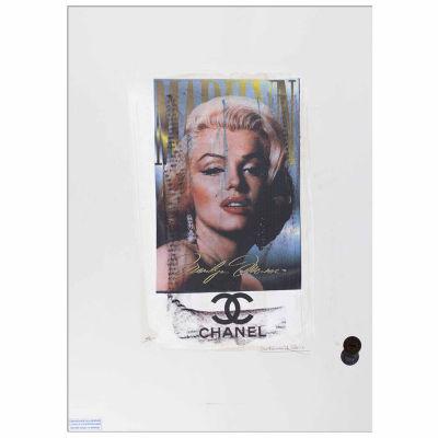Fairchild Paris Marilyn Monroe Chanel (711) Framed Wall Art