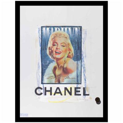 Fairchild Paris Marilyn Monroe Chanel (712) Framed Wall Art