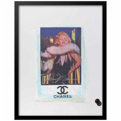 Fairchild Paris Marilyn Monroe Chanel (722) Framed Wall Art