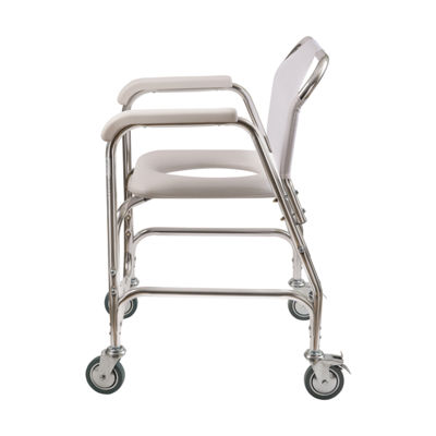 DMI Rolling Shower Transport Chair