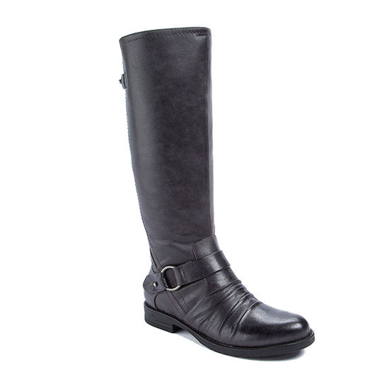 Wearever Shoes Womens Cansy Riding Boots Flat Heel