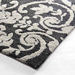 Laura Ashley Halstead Plush Knit Microfiber Rectangular Accent Rug