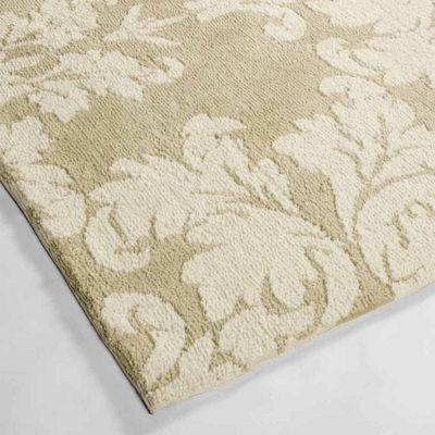 Laura Ashley Kent Plush Knit Microfiber Rectangular Accent Rug