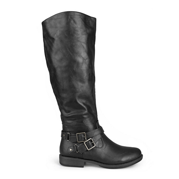Journee Collection April Riding Boots - Wide Calf