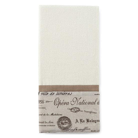 Edwardian Script Hand Towel