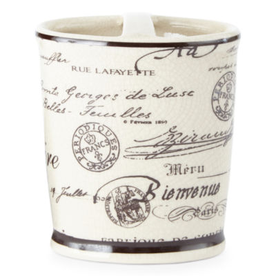 Edwardian Script Toothbrush Holder