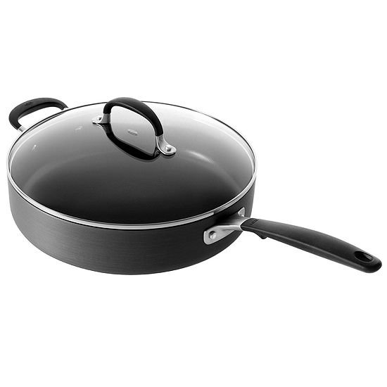 """OXO® 12"""" Hard-Anodized Nonstick Sauté Pan with Lid"""
