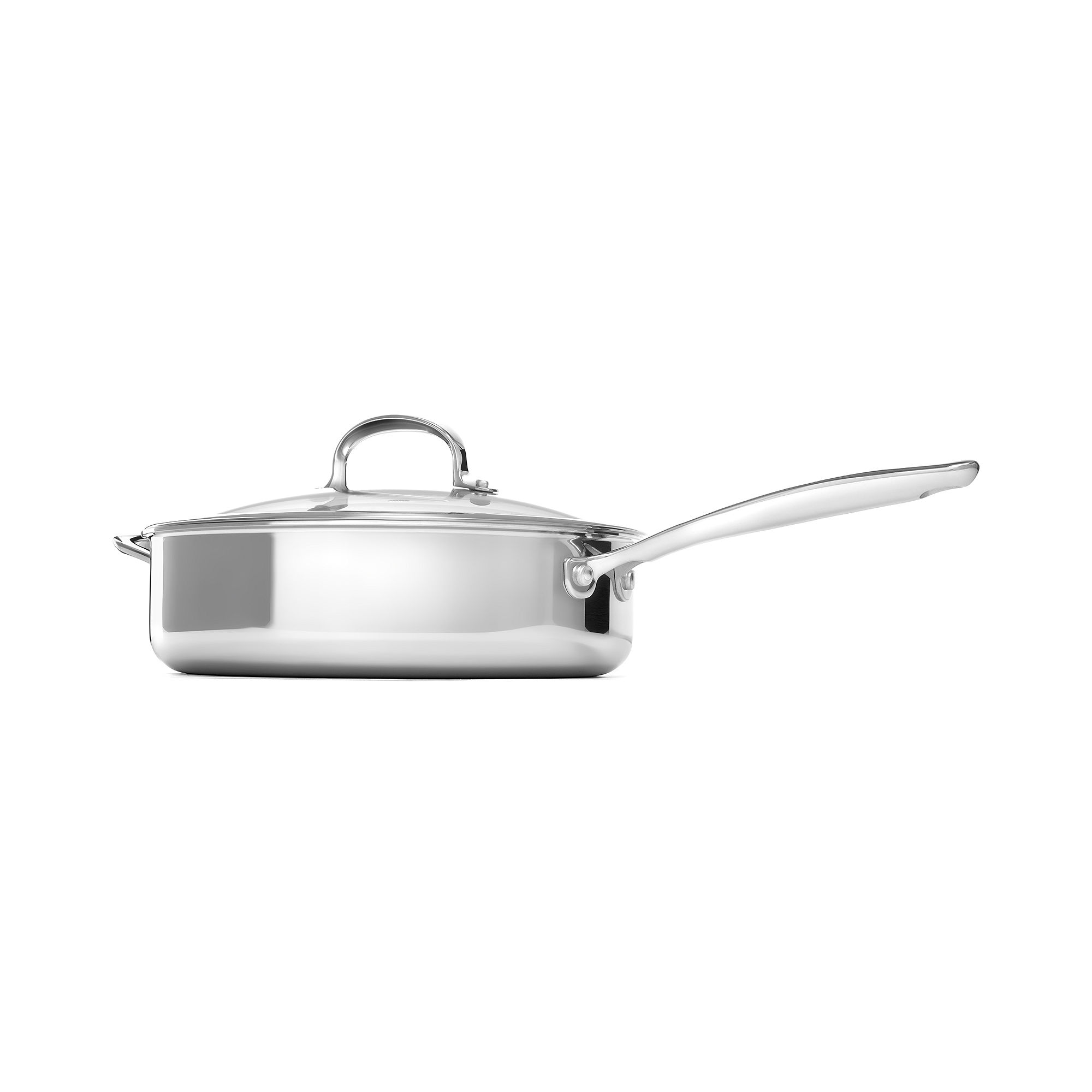 "OXO Pro 10"" Stainless Steel Skillet with Lid"