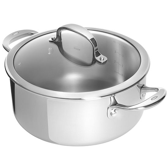OXO® Pro 5-qt. Stainless Steel Dutch Oven with Lid