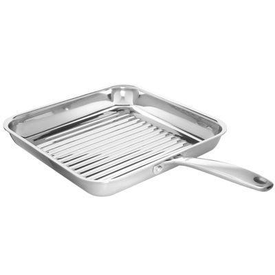 """OXO® Pro 11"""" Stainless Steel Grill Pan"""