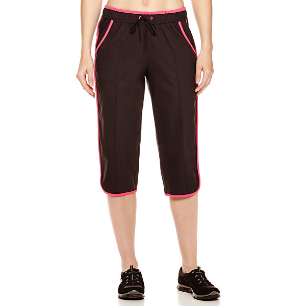 Made for Life™ Pintuck Piped Capri Pants - Tall