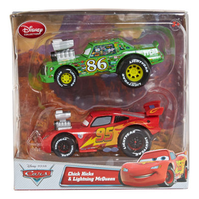 Disney Collection Cars 2-pk. McQueen & Chick Hicks Toy Cars
