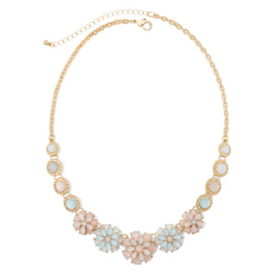 Mixit™ Multi Flower Collar Necklace