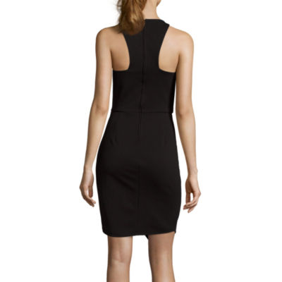 Bisou Bisou®  Sleeveless Halter Bodycon Dress