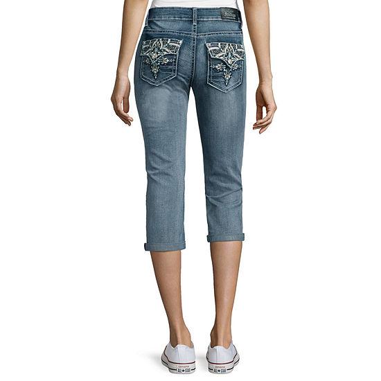 Love Indigo Shaper Color Back Flap Bootcut Jean