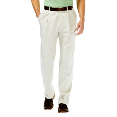 Haggar® Work to Weekend® Classic-Fit Pleated Pants