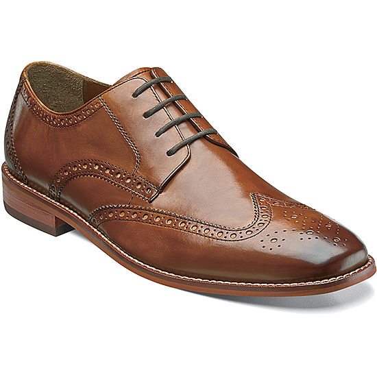 Florsheim Montinaro Mens Leather Oxfords JCPenney 30969a3adf63