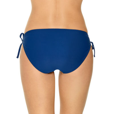 Arizona Geo Linear Hipster Swimsuit Bottom-Juniors