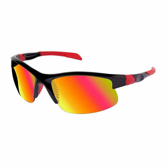 Xersion Semi-Rimless Sportwrap Sunglasses