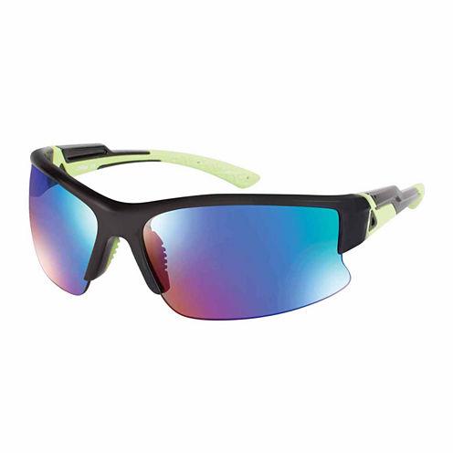 Xersion Semi-Rimless Wrap Sunglasses