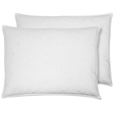 St. James Home White Goose Feather Pillow 2-Pack