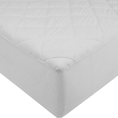 St. James Home 233TC Cotton Mattress Pad with Waterproof Back and Stain Resistent Finish