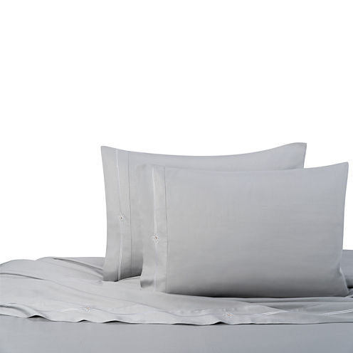 Swarovski By Textrade Eros 300tc Sateen Sheet Set