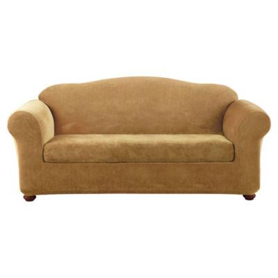 SURE FIT® Stretch Piqué 2-pc. Sofa Slipcover