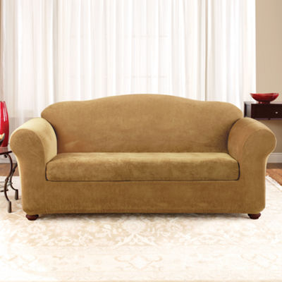 SURE FIT® Stretch Piqué 2-pc. Sofa Slipcover