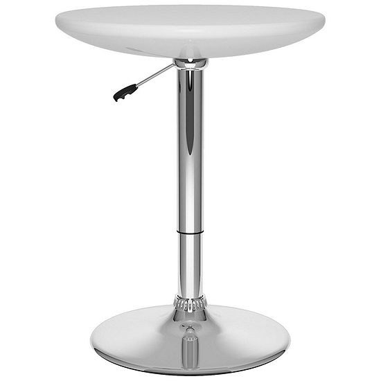 Adjustable Height Round Pub Table