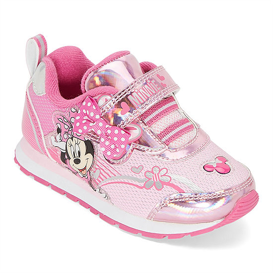 Disney Collection Minnie Mouse Athletic Toddler Girls Sneakers