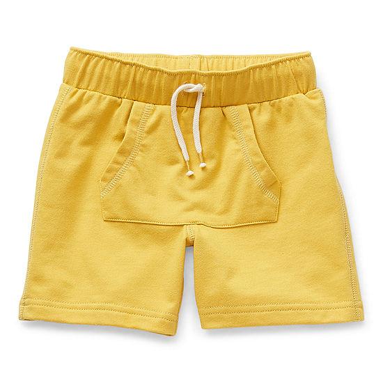 Okie Dokie Kanga Toddler Boys Mid Rise Pull-On Short