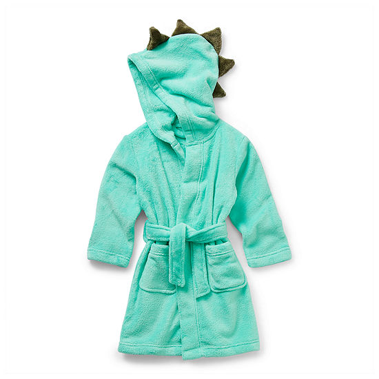 Okie Dokie Toddler Boys Fleece Long Sleeve Mid Length Robe