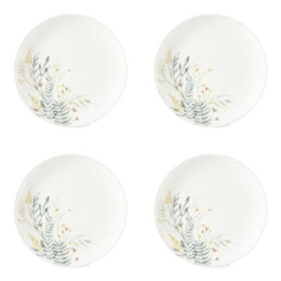 Linden Street Floral 4-pc. Salad Plate